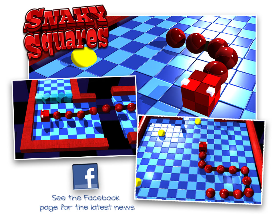 Snaky Squares Facebook Page